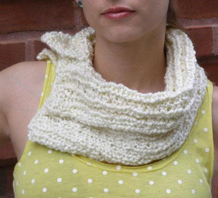 white-scarf