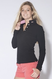 Salmon Cove Long Sleeve Polo