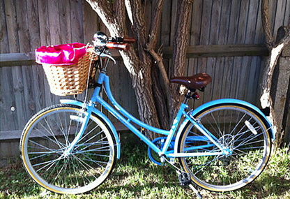 Gunjan Grover's preppy bicycle