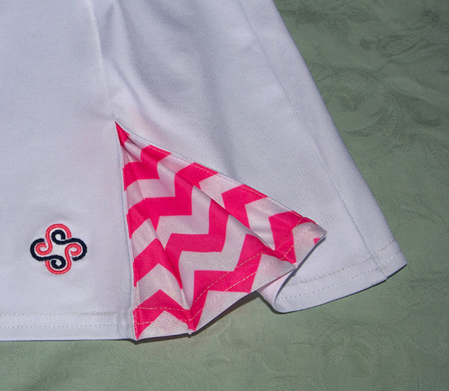 Spoiled Sports Hot Pink Box Pleat Skirt